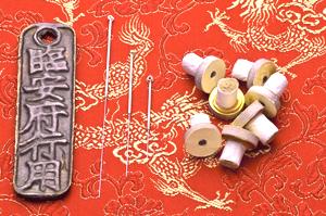 Akupunktur und Akupunktmassage