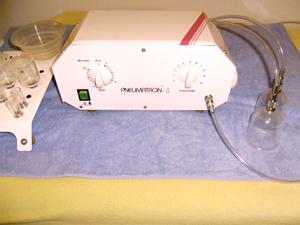 Pneumatische Pulsationstherapie (=PPT)